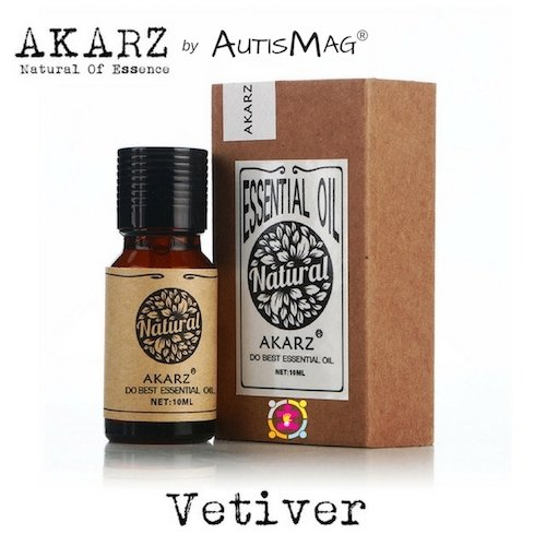 Vetiver Essential Oils for ADHD and Autism