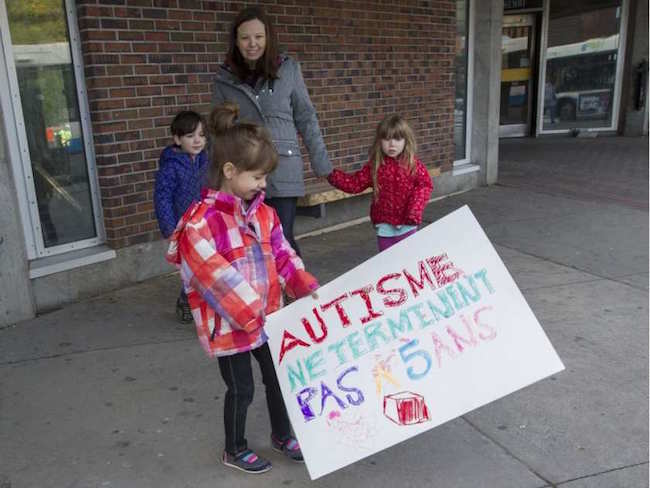 Charlotte and the Kuhn Family have been on the ASD Treatment waitlist for more than a year.