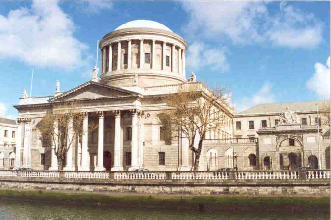 The Dublin High Court - Where Brian's Case was recently heard