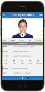 Identifier Companion app Abby