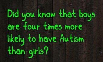 Autism Boys Vs Girls