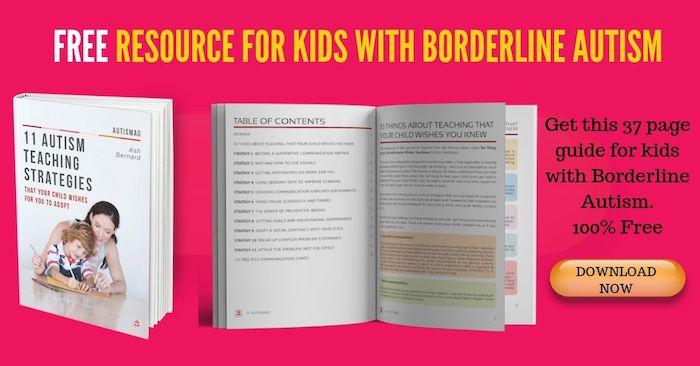 borderline autism resources