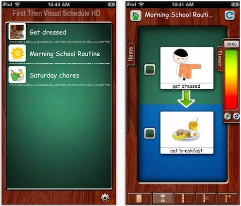 First Then Visual Schedule HD - Among the popular Autism apps