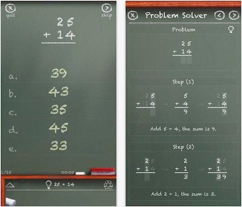 MathBoard - An App for Teach Math Skills to Autistic Children