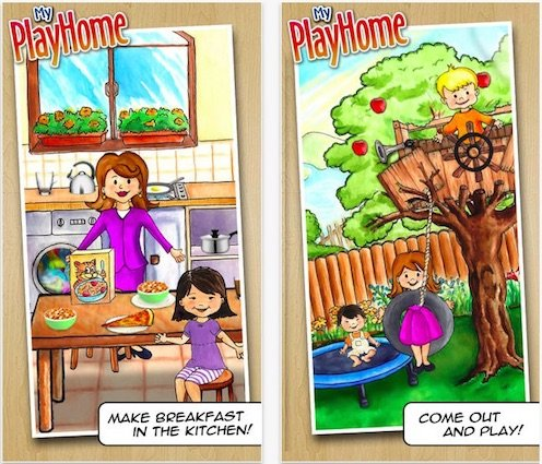My PlayHome - One of the better play therapy apps for kids with autism