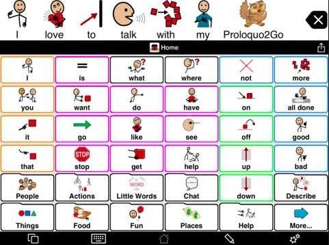 Proloquo2Go App for Autism