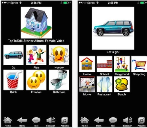 TapToTalk - A Speech Therapy App for Kids with Autism