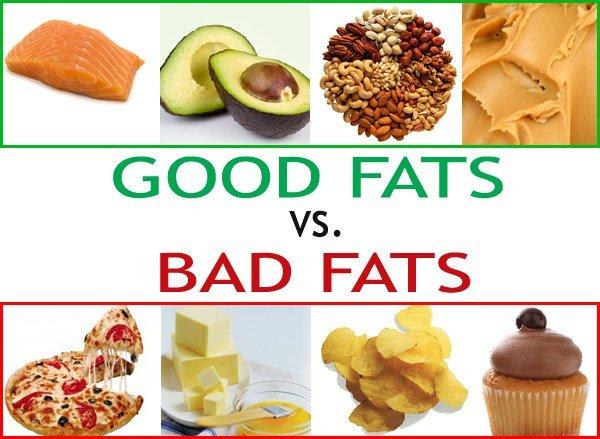 Choose carefully between Good Fat Vs Bad Fat