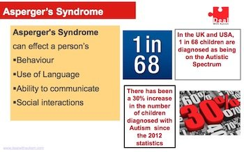 Aspergers and Autism awareness slide 5