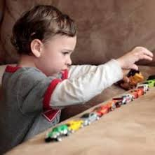 Autistic Child pre-occupied with Cars