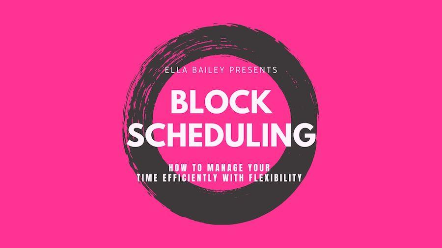 block scheduling thumbnail